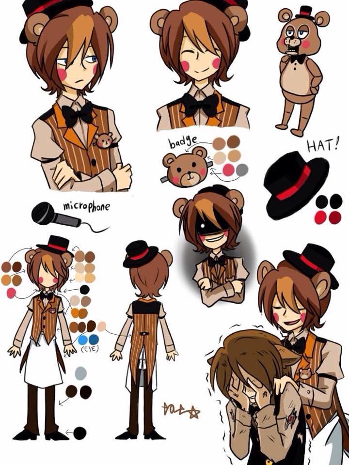New FNAF Characters