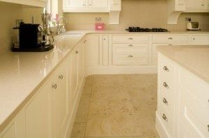 Blanco City Silestone Dark Cabinets Quartz Worktop