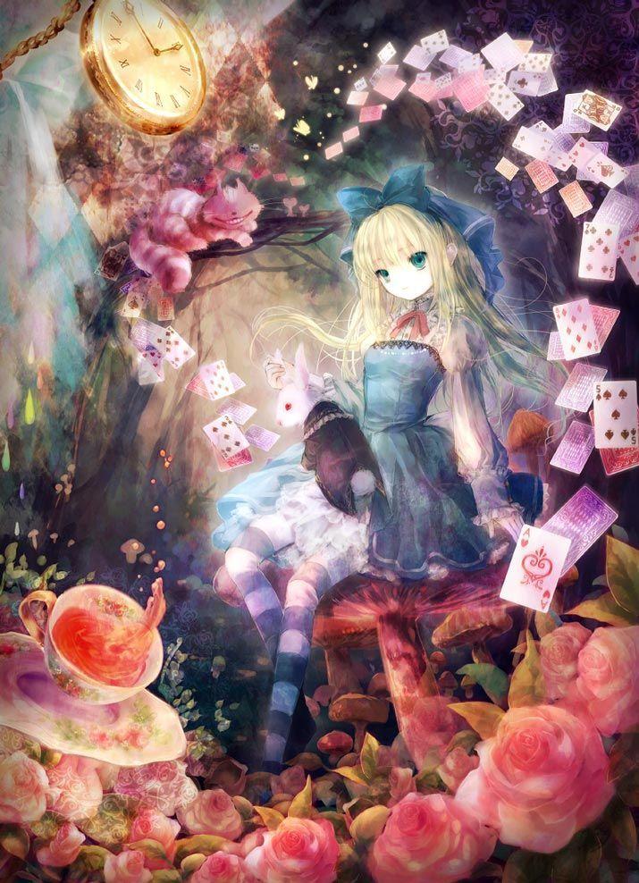 Anime Alice In Wonderland by Onineko illus id = 10194407