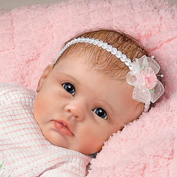 """Baby Dolls That Look Real So Truly Real """"Olivia's Gentle"""