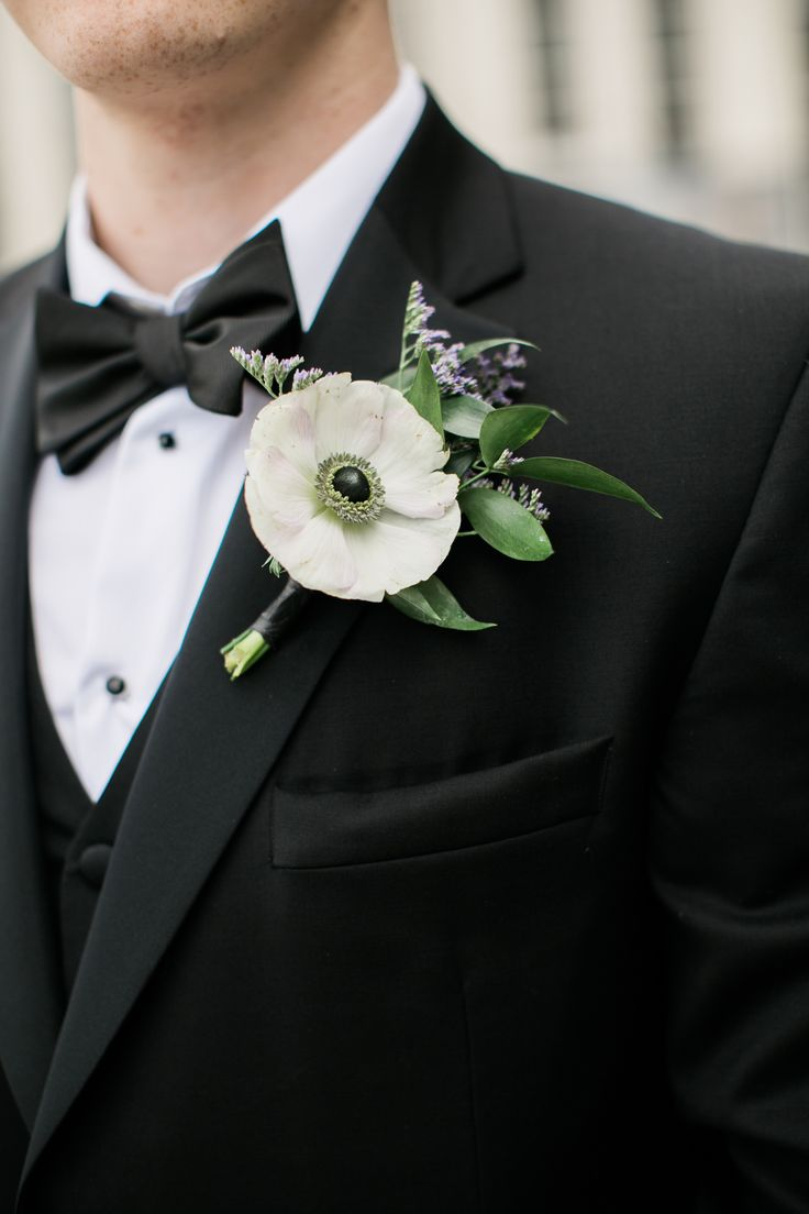 1000 Ideas About Anemone Boutonniere On Pinterest