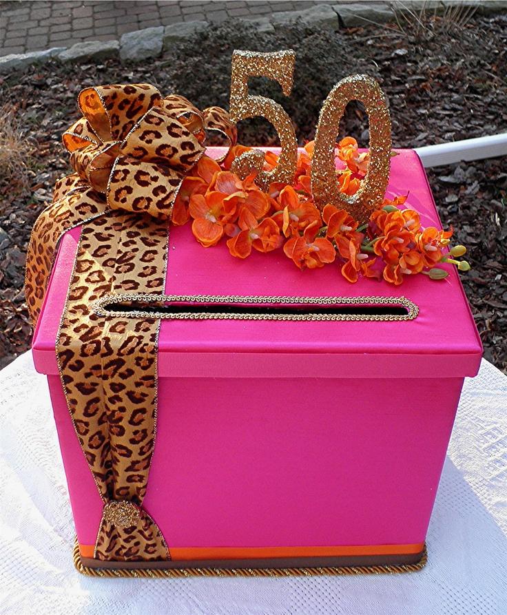 CHIC Wedding 50th BIRTHDAY Party Box Sweet Sixteen Wedding