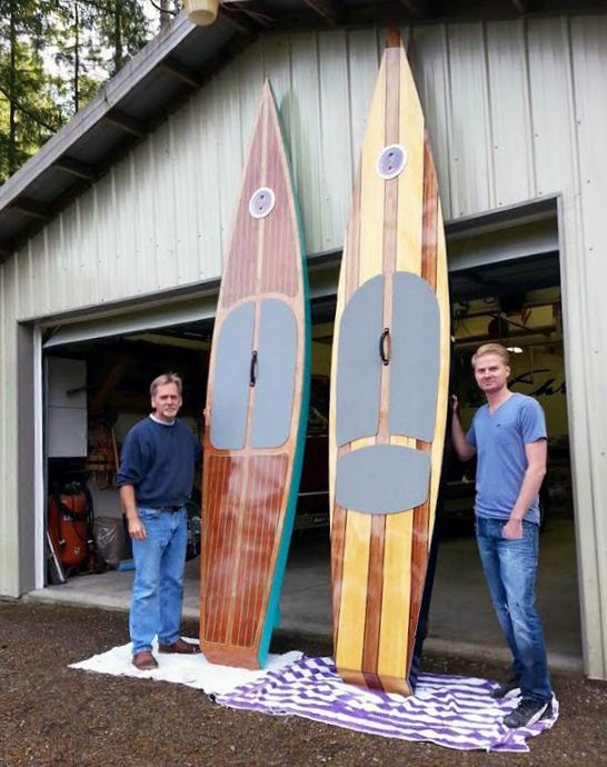 Kaholo Wood Touring Stand Up Paddleboard Build Your Own
