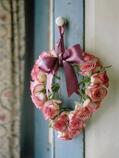 136 Best Images About SHABBY CHIC HEARTS Amp WREATHS On