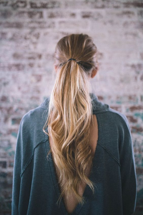 1000 ideas about Volume  Ponytail  on Pinterest Hair Claw