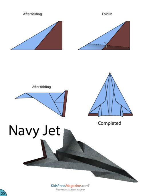 16 Best Paper Airplane Designs | 687x500