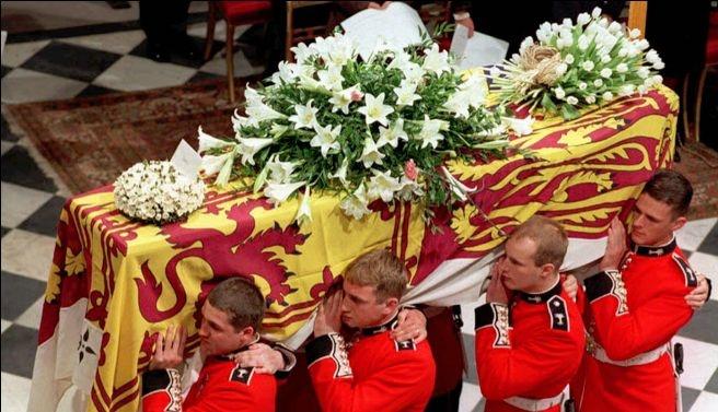 Muerte de la princesa La princesa Diana falleció en un