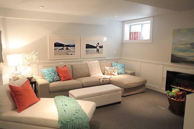 design ideas basement family room
