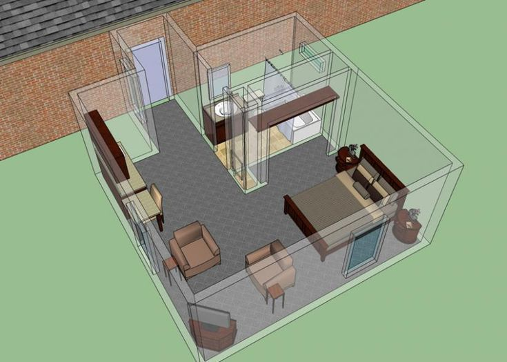 Mother In Law Suite Addition : House Plans