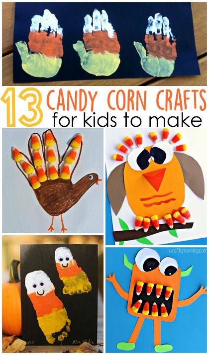 Candy Corn Crafts for Kids to Make (Fun fall and Halloween ideas!) CraftyMorning.com: