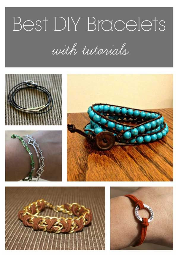 Best DIY Bracelets – with tutorials – select that one on the bottom left – the b