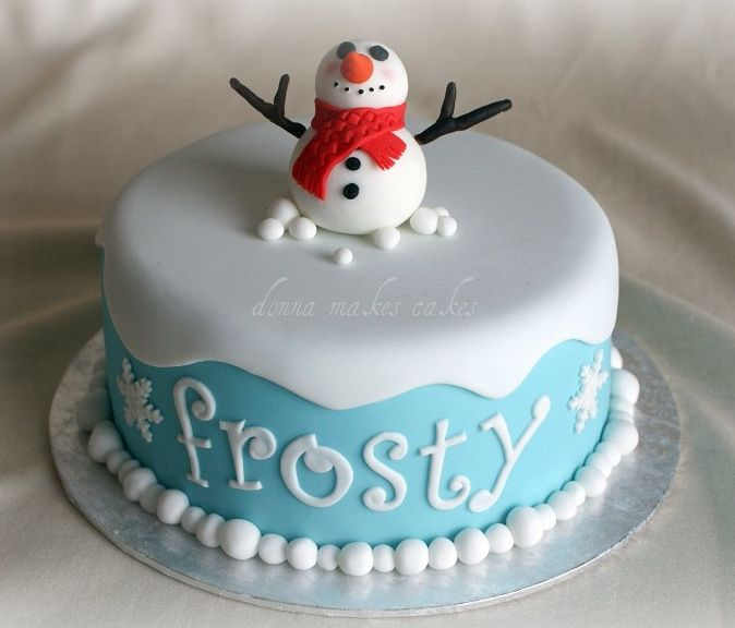 Frosty The Snowman Cakes Frosty Cake Tirzah Birthday