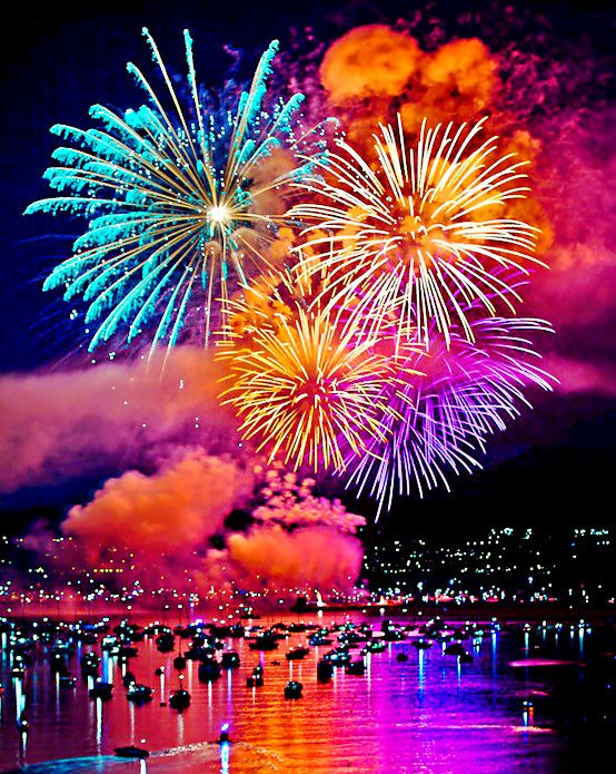 Australia Day Fireworks the 26th of January is the