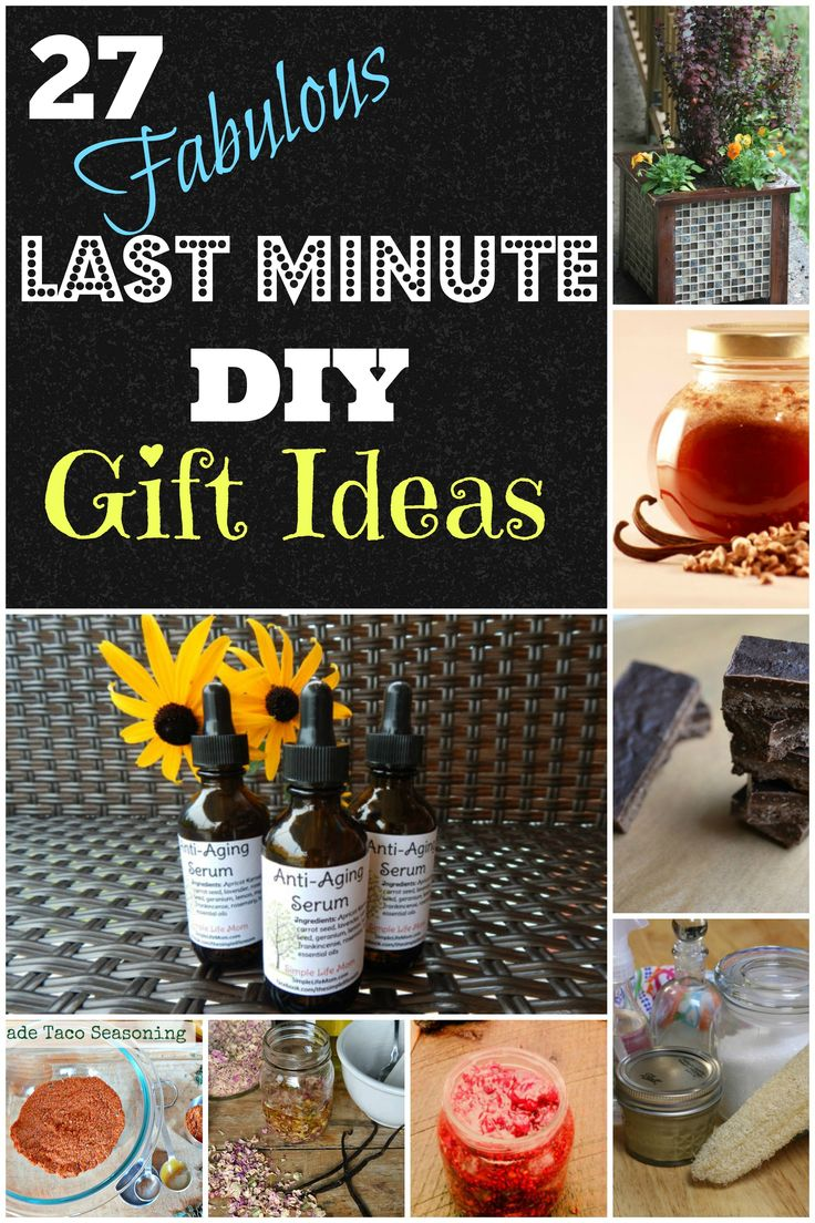 27 Last Minute DIY Gift Ideas Mothers, Last minute and
