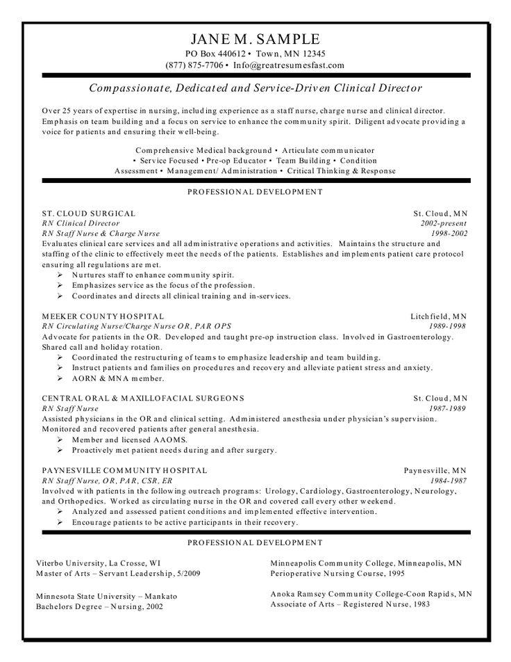 Resume For Applying To Nursing School. Graduate School Resumes