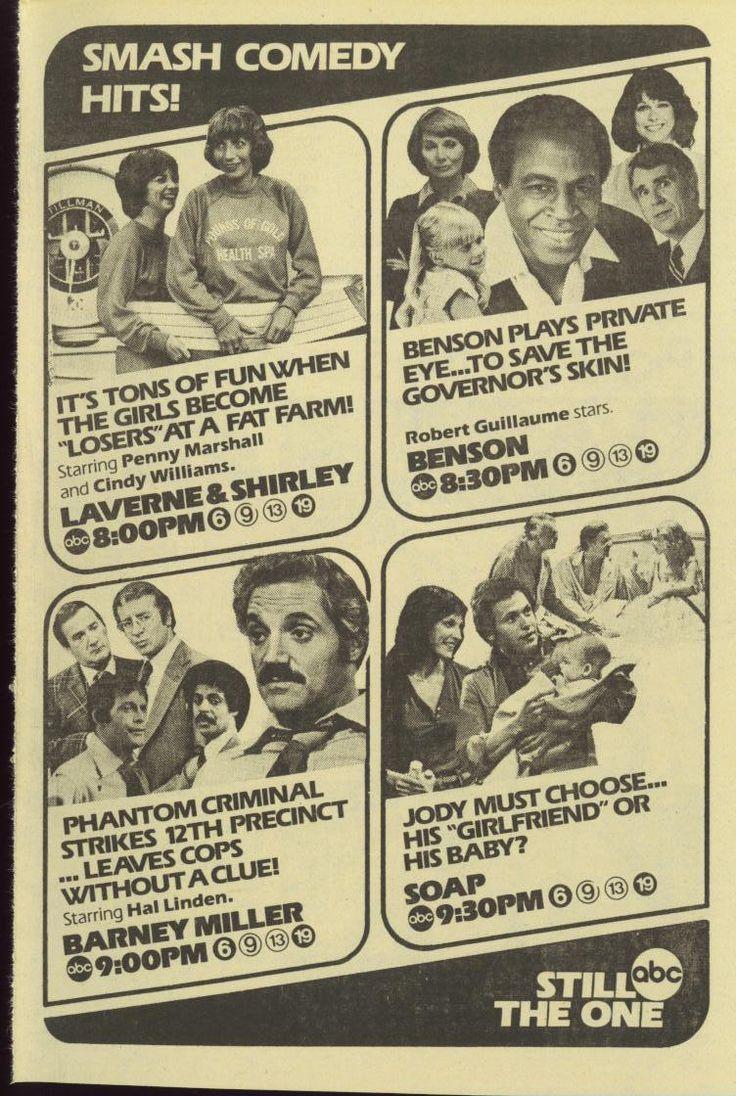 1979 Tv Guide Adlaverne Amp Shirleybarney Millerbenson