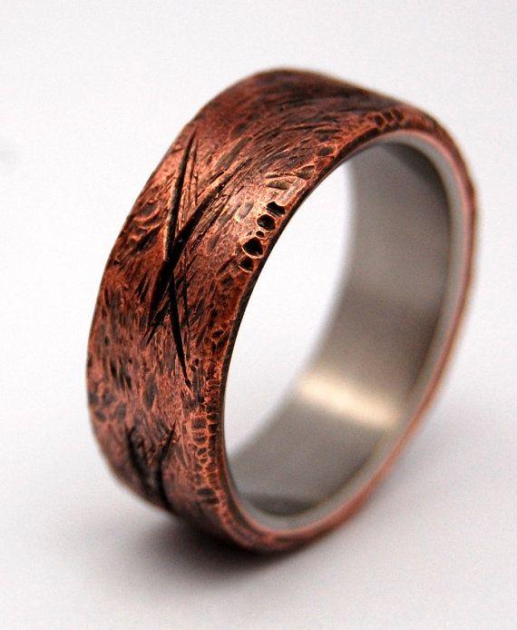 Titanium Wedding Ring Wedding Ring Titaniun Rings Mens