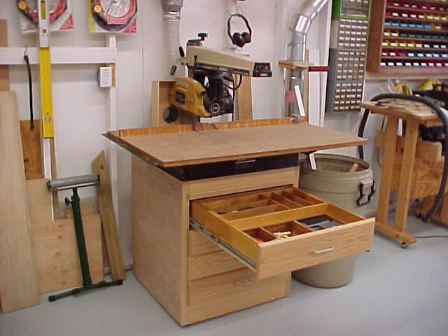 Chop Saw Table Plans WoodWorking Projects Amp Plans