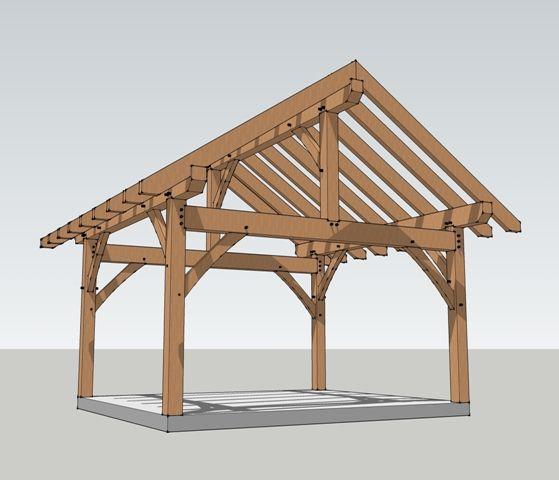 16x16 Timber Frame Plan Frames And Timber Frames