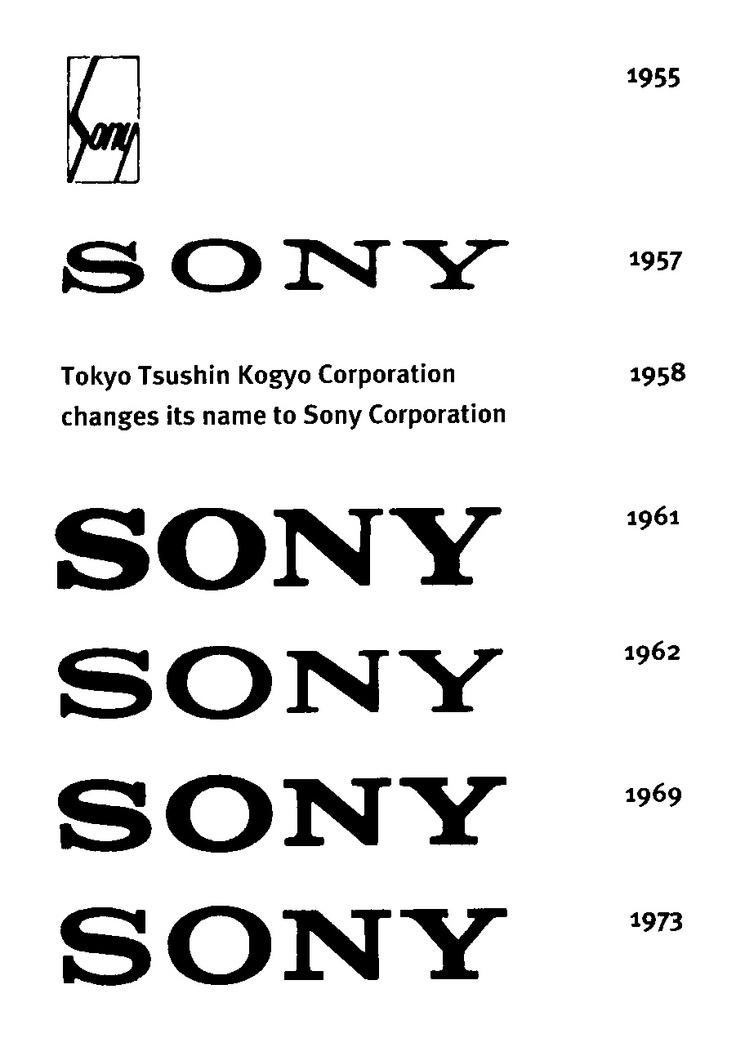 Logo History Sony Logo, Sign, Icon Pinterest Logos