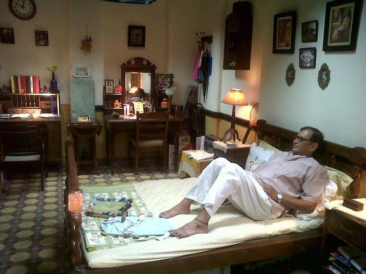 Indian Middle Class Bedroom Organized Clutter Wood