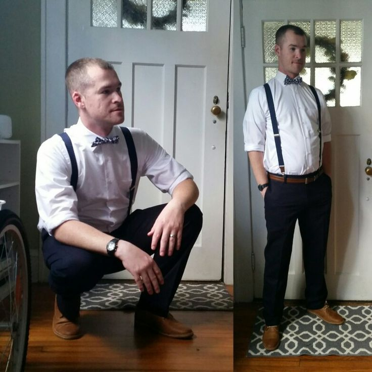 1000 Ideas About How To Wear Suspenders On Pinterest