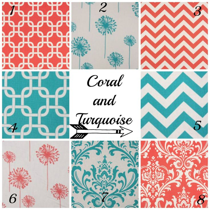25 Best Ideas About Coral And Turquoise Bedding On Pinterest Coral Girls Rooms Coral Room