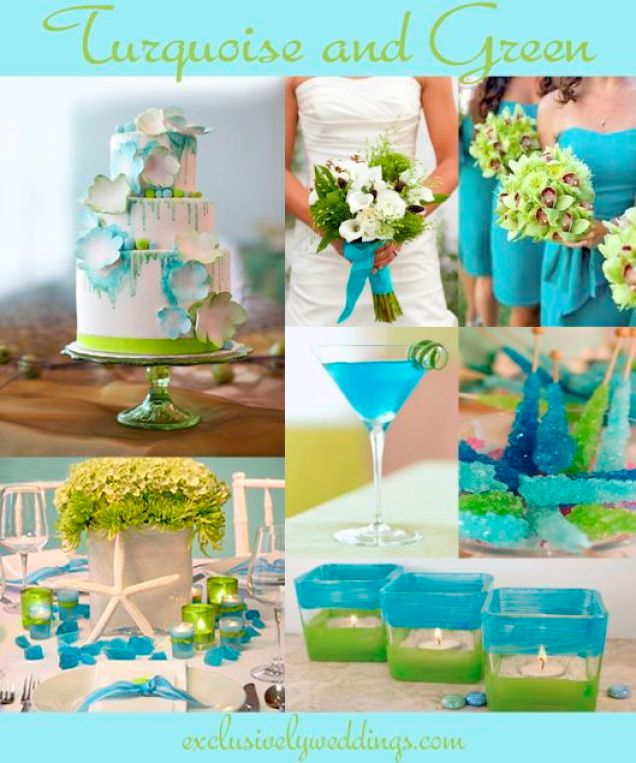 Turquoise_and_Green_Wedding_Colors