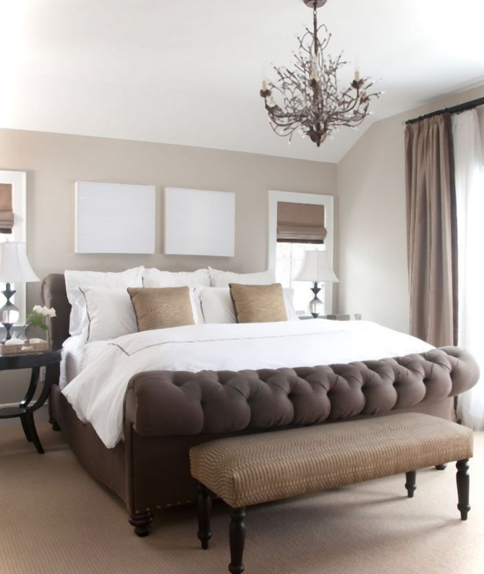 Luxurious Bedroom Ideas With Stylish Look.. Love the bed! Would work perfectly w