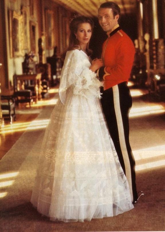 HRH Princess Anne and her husband, Captain Mark Phillips