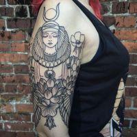 Resultado de imagen para isis tattoo