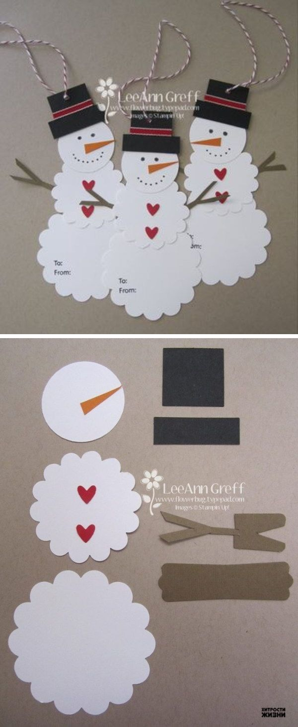 1000 Ideas About Christmas Gift Tags On Pinterest Gift