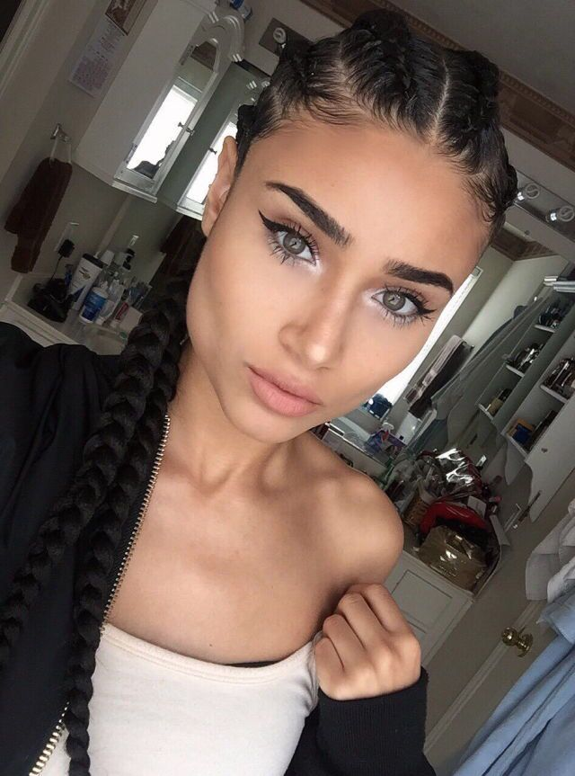 25 Best Ideas About Cornrow On Pinterest Black Braids