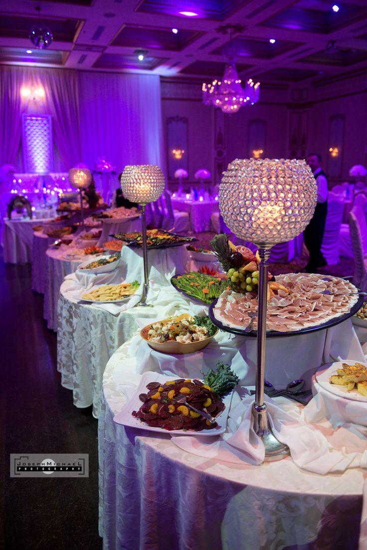 Banquet Hall Wedding Photography Toronto, Buffet