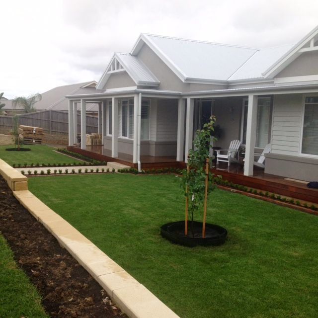 Hamptons Style New Home Build Melbourne House Exteriors