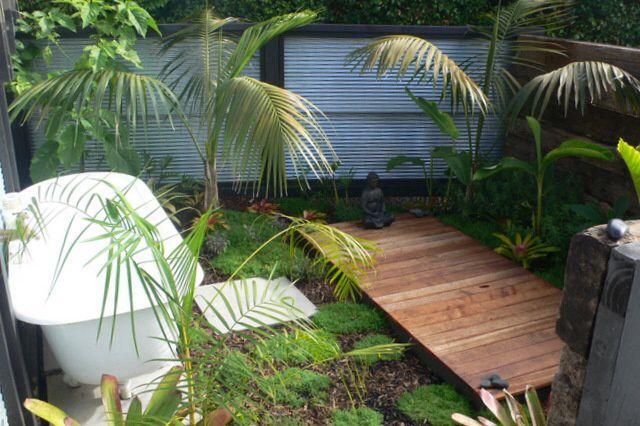 Outdoor Platform For Meditation And Yoga Practice