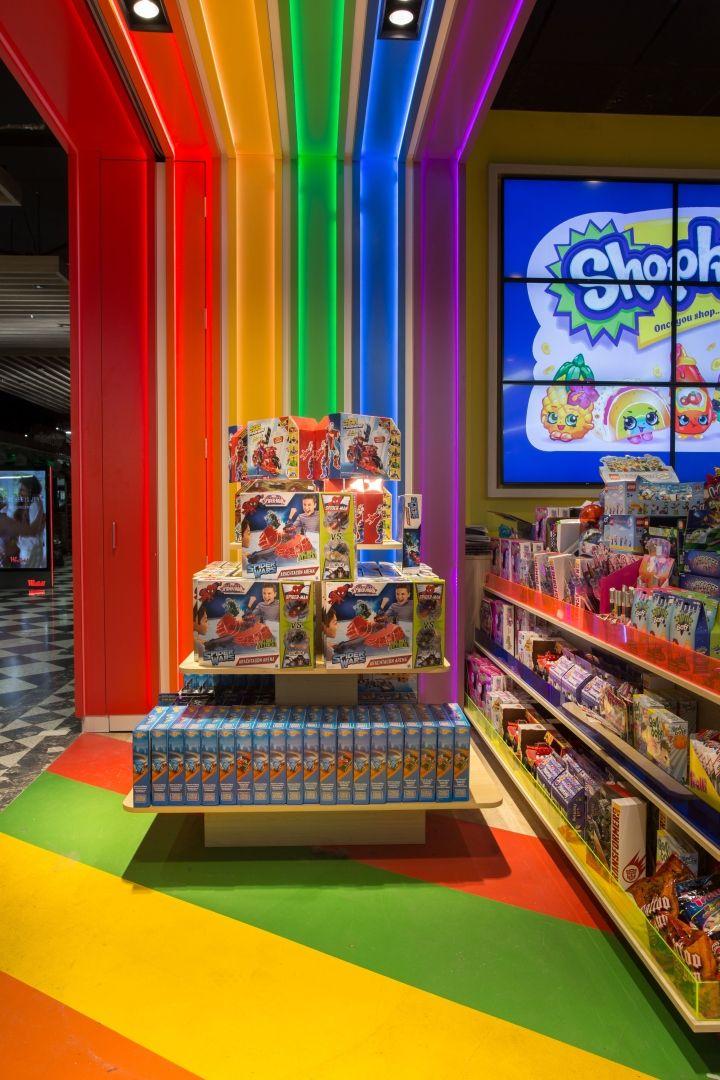 Toymate toy store by Creative 9, Sydney Australia