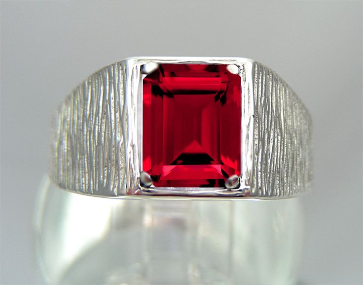 23 Best Images About MENS RUBY RINGS On Pinterest