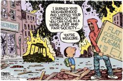 Image result for black lives matter riots