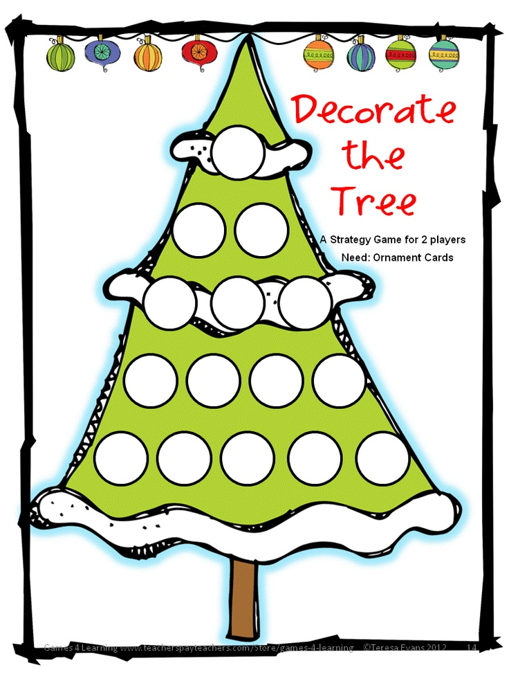 Christmas Activities Christmas Math Games, Puzzles and