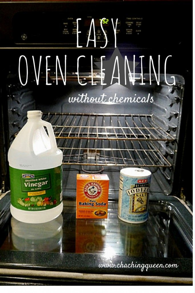 How to Clean Your Oven Without Chemicals, NonToxic (with