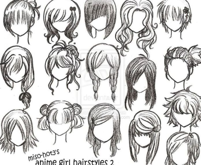 Anime on Pinterest | Anime Eyes, How To Draw and Anime Girl Hairstyles