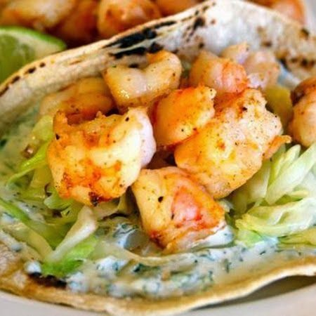 Super Simple Shrimp Tacos – I wanted to make something that was light and easy, but would not have me stuck in the kitchen for the