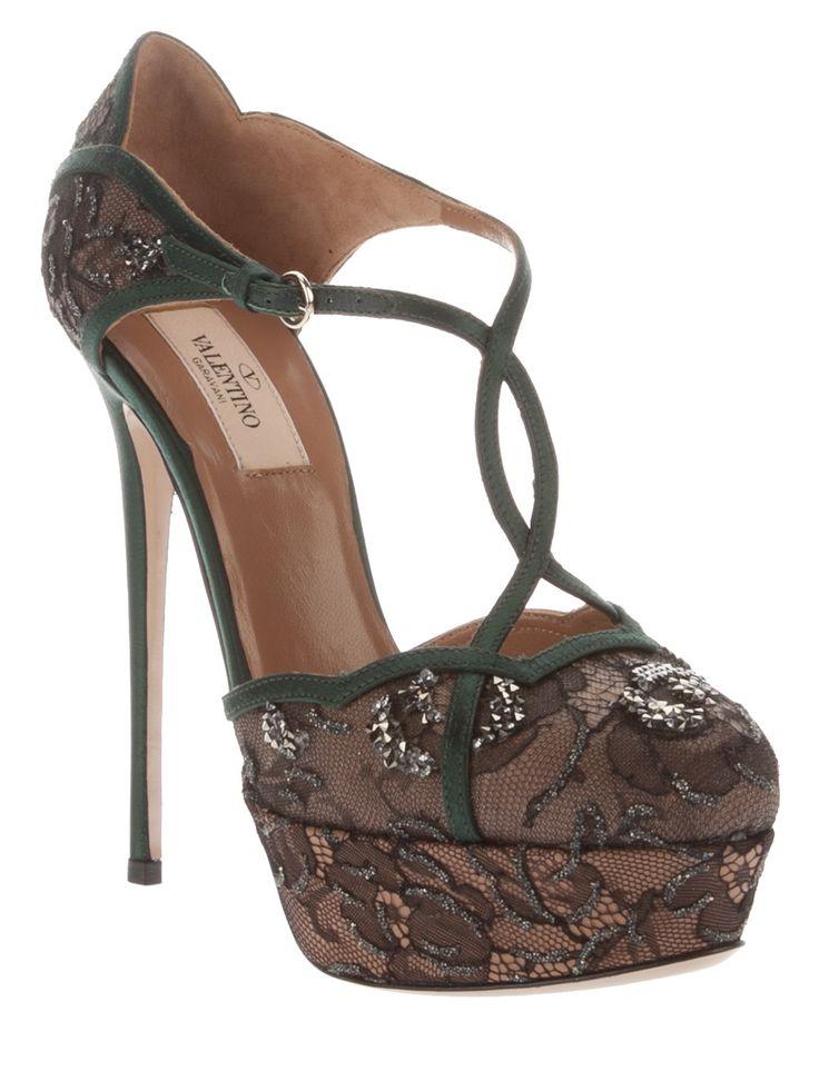 Valentino Lace shoe [Valentino] – $239.00 : Discounted Christian Louboutin,Jimmy