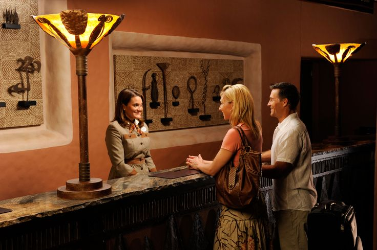 Disney Resort Hotels Disney39s Animal Kingdom Lodge Kidani Village Lobby Front Desk Walt