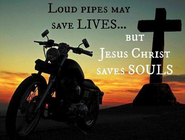 Jesus Christ And Biker