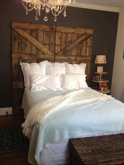 25 Best Ideas About Barn Wood Headboard On Pinterest