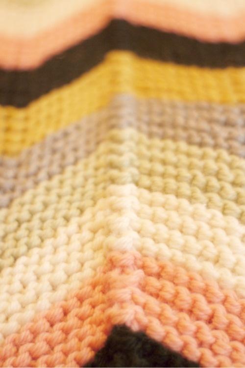 Chevron Colors In Garter Stitch Glorious Garter Stitch Pinterest Stitches Garter And Knits