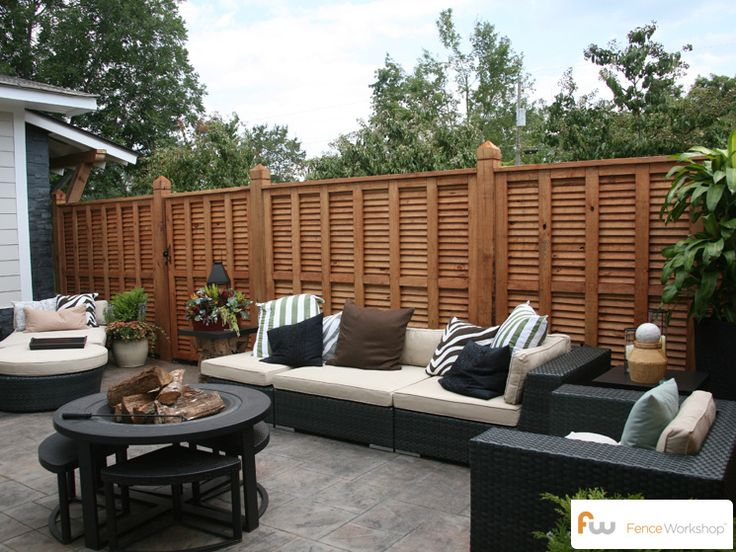 12 Best Images About Modern & Contemporary Fence Ideas On