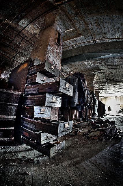Abandoned Lebow Clothing Factory in Baltimore Maryland.